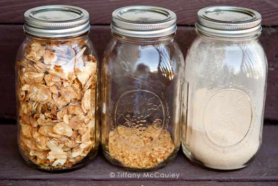 how to make garlic powder without dehydrator